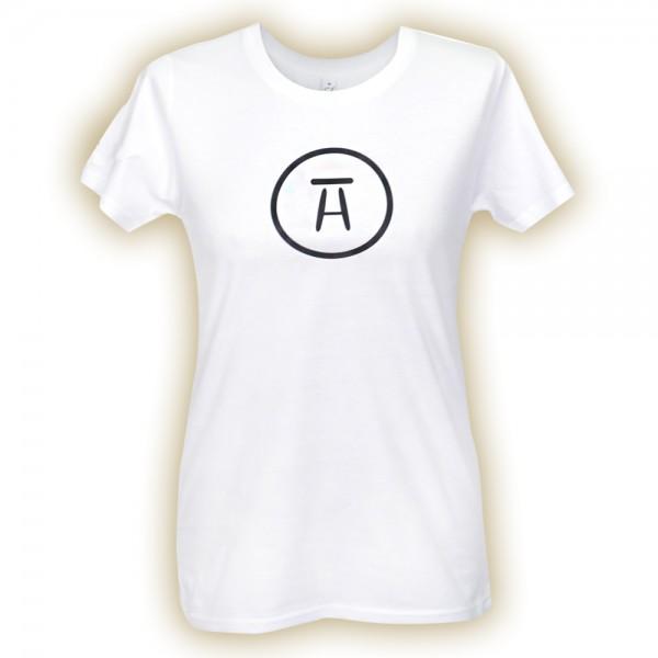 #stubenhocker T-Shirt Frauen Symbol, vorne