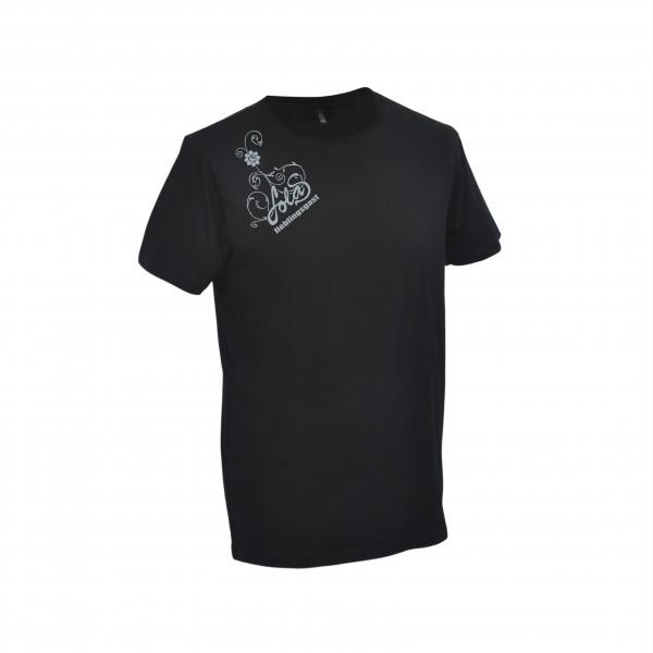 LolaS Herren T-Shirt, schwarz/grau