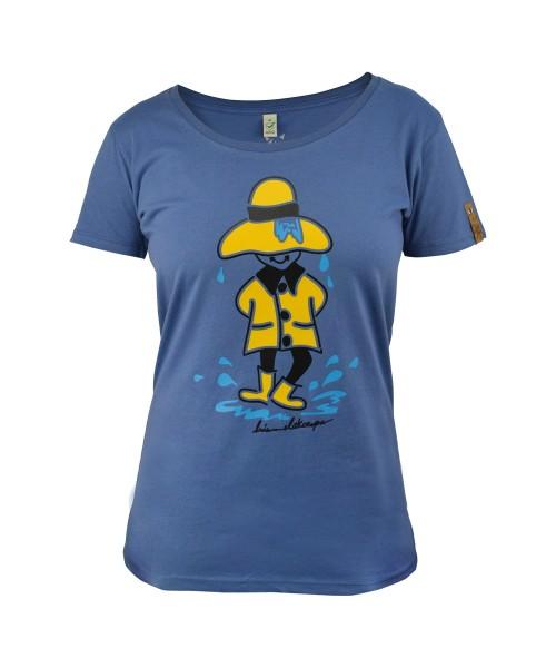 Damen T-Shirt Regentanz von himmelskoerper, vorne