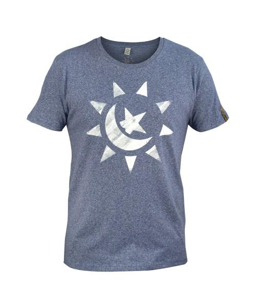 himmelskoerper, Sonnemondstern, Männer T-Shirt, vorne