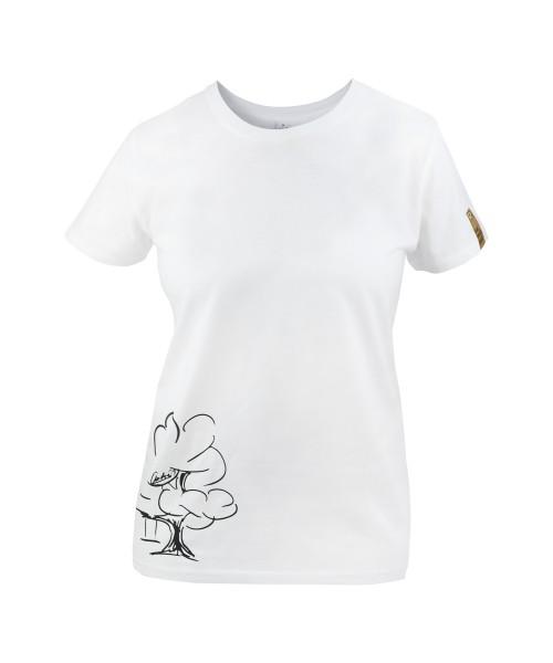 Damen T-Shirt Baumschaukel von André, vorne