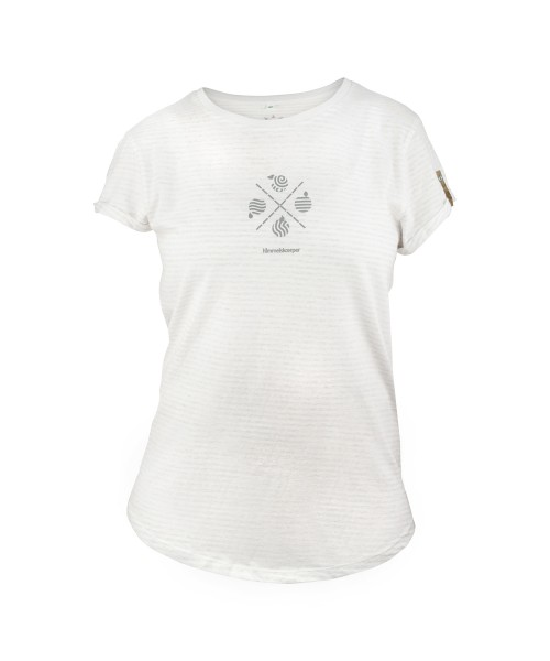 Damen T-Shirt 4elemente von himmelskoerper, vorne
